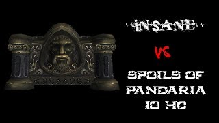 Insane vs Spoils of Pandaria 10 Hc (Warlock Pov) - Tauri wow