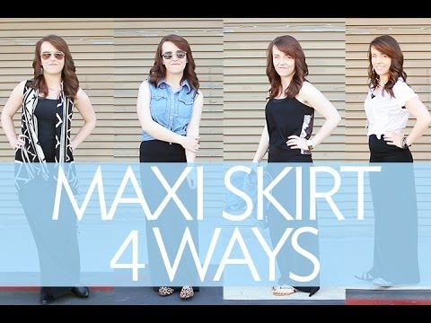 Maxi Skirt Outfit Ideas | Broke But Bougie