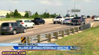 MASSIVE CAR RECALL! EXPLODING AIRBAGS! 11 AUTO MANUFACTURES ON THE LIST!