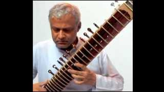 'Aap Ki Nazron'. An old Hindi film song on sitar by  Dr. Sanjeeb Sircar, with improvisations.