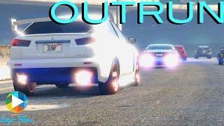"Logic Films' ""Outrun"" (GTA 5 Rockstar Editor Machinima Collab with WarLux AMVs)"