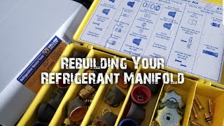 HVAC - How To Rebuild Your Refrigerant Manifold