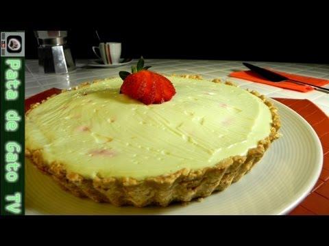 Pay Cremoso De Fresa Y Limón Sin Horno   Strawberry And Lemon Creampie No Oven Needed video