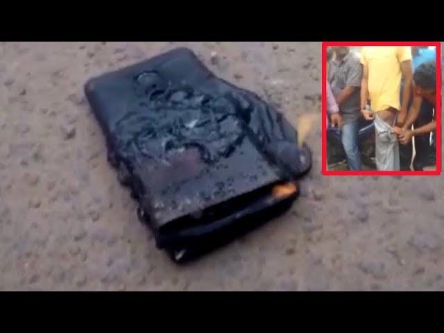 Smartphone bursts into flames inside pocket of man
