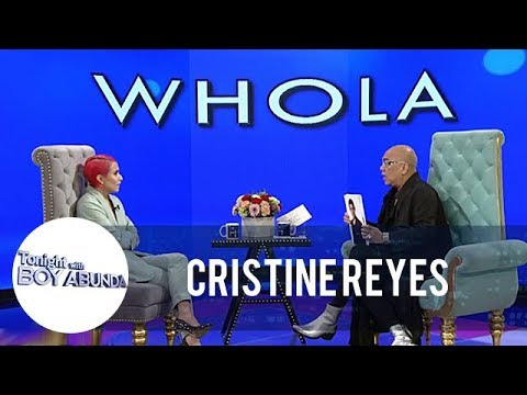 Cristine Reyes plays WhoLa with Tito Boy | TWBA