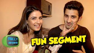 Interview : Jasmine & Sidhant aka Twinkle & Kunj Reply To Fun Questions | Tashan-e-Ishq
