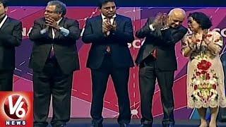 World IT Congress Closing Ceremony In HICC   Hyderabad   V6 News