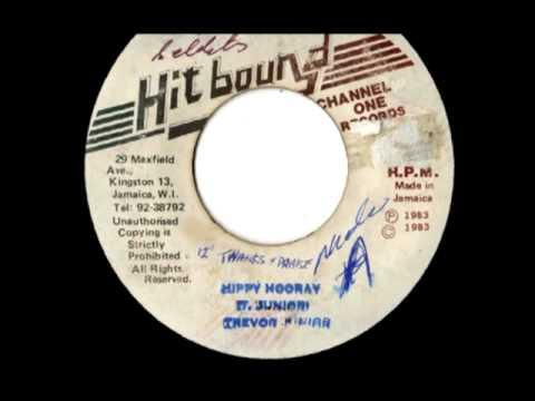 TREVOR JUNIOR - Hippy hooray + version (Hitbound)