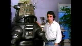 Forry Ackerman introduces William Malone and Robby the Robot from Forbidden Planet