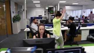 NZ newsroom remakes 'Happy' music video