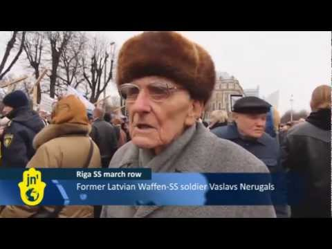 Latvians Honour Waffen-SS Veterans: March on Latvian Legion Day Honours Soldiers for Nazi Germany