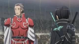 (AMV)-Anime-kirito vs Heathcliff