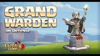 Clash of Clans Sneak Peek update| Grand Warden Defense Mode!