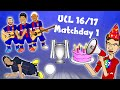 7-0! 5-0! DAY 1! Champions League 16/17 Highlights! (Barcelon...