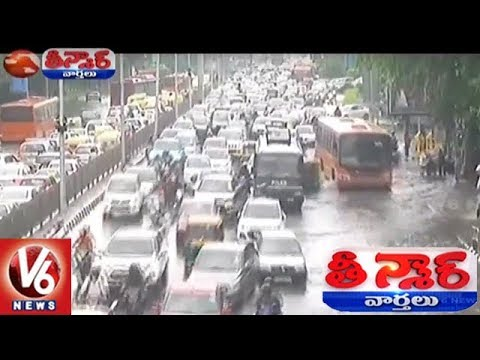 Heavy Rain Lashes Delhi, 30 People Rescued As Bus Breaks Down | Teenmaar News