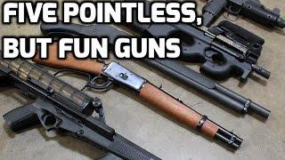 Five Pointless, But Fun Guns | TFBTV