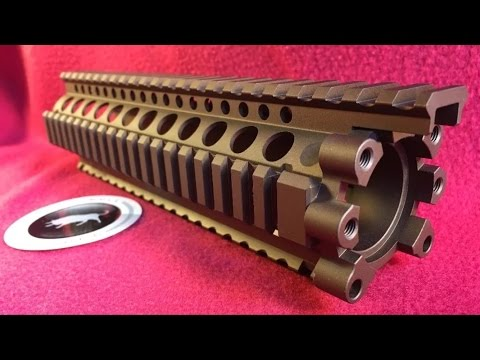 Daniel Defense AR-15 9.0 lite Airsoft free float rail system - Tan