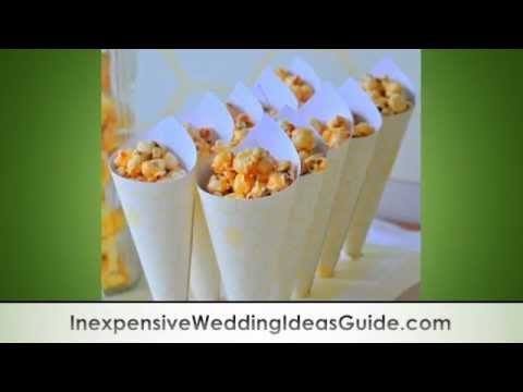0 Popcorn Buffet for Your Wedding