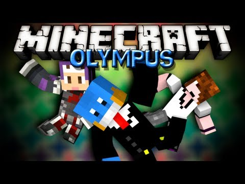 Minecraft - OH GOD MONSTERS - Olympus CTM with Deadlox and Setosorcerer - #1