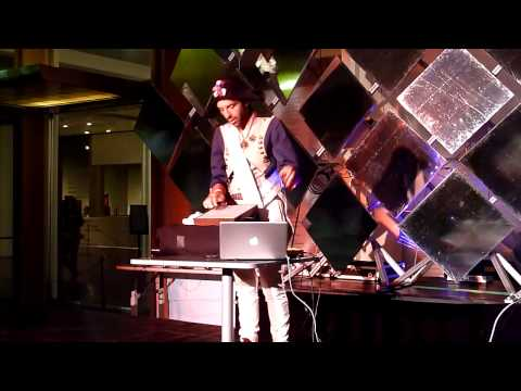 DAEDELUS (DJ) SPINNING AT LACMA MUSE COSTUME BALL VIDEO