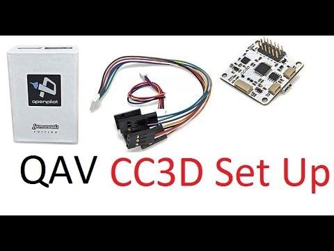 QAV 250 - CC3D Flight Controller Set Up - That HPI Guy