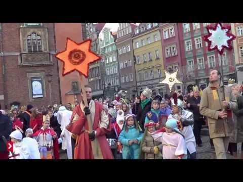 Orszak Trzech Króli 2014 We Wrocławiu