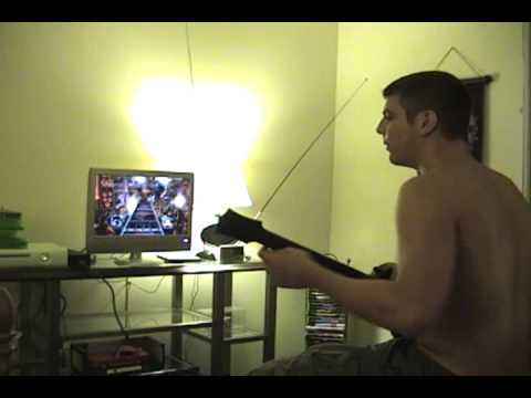 Guitar Hero 3 Failure Freakout (Through the Fire and Flames)