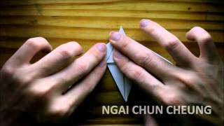 Origami Great Frigatebird (tutorial)