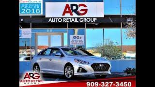 2018 Hyundai Sonata Sport (Rialto, California)