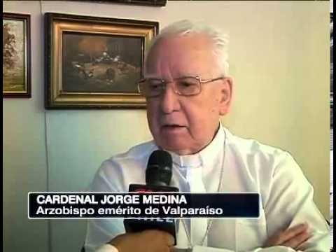 Cardenal Jorge Medina contra matrimonio homosexual