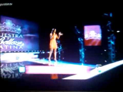 Carlina Duran audiciona para NBL 2013