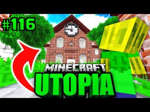 BABY CHAOSFLO's NEUE SCHULE?! - Minecraft Utopia #116 [Deutsch/HD]