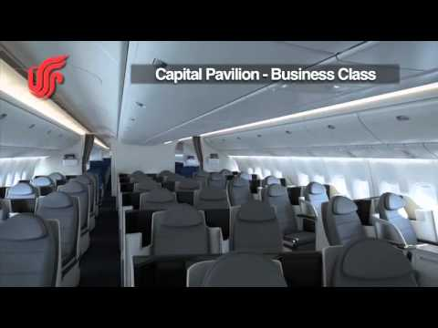 Air China's New Boeing 777-300ER -- Capital Pavilion (Business) Class Tour