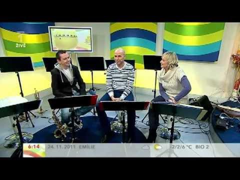 Jiri Sevcik + PIRATE SWING Band v Dobrem ranu Ceske televize