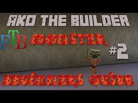 FTB Monster Beginner's Guide Episode 2 - Automated Smeltery, Self Repair Tools, Block Generator