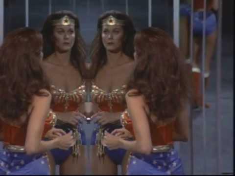 Wonder Woman Captured By Alien Tetrahedron