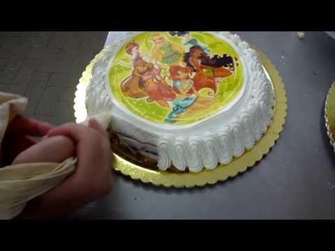 Come Fare una Torta per Bambini Nutella e Panna – Pan di Spagna : Compleanno