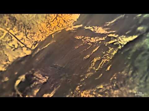 На Титане обнаружили блики от северных озёр