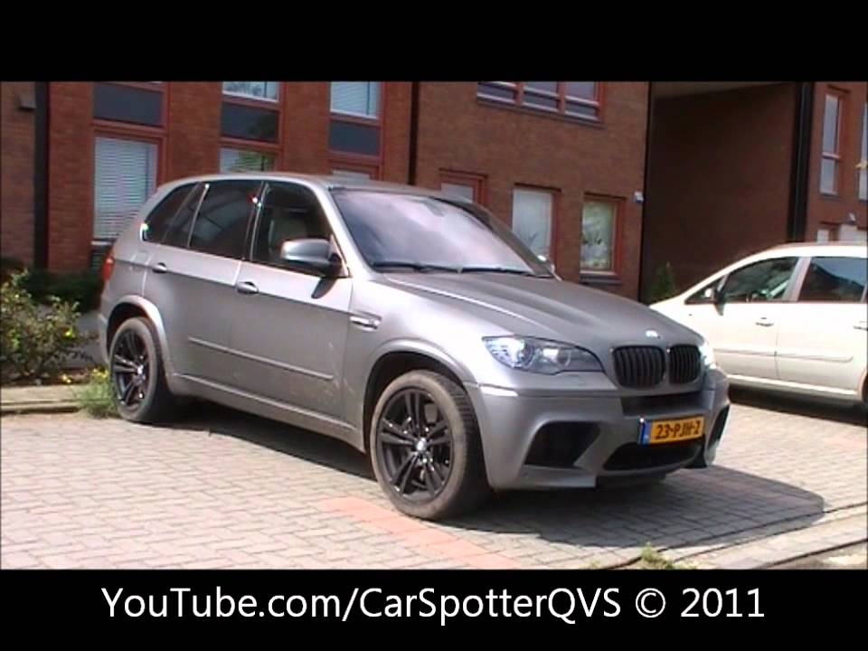 Matte Grey Bmw X5m Youtube