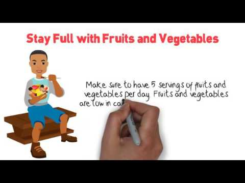 Stay Full with Fruits and Vegetables