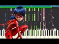 IMPOSSIBLE REMIX Miraculous Ladybug Theme Piano Cover mp3