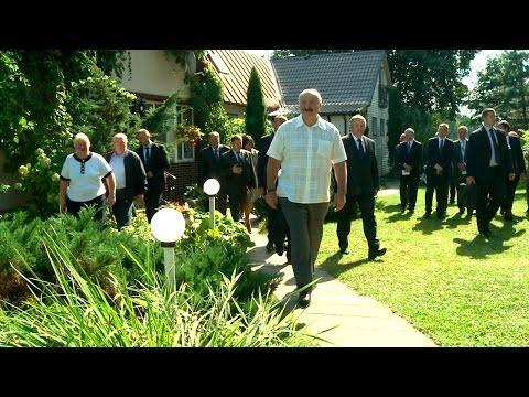 Лукашенко посетил агроусадьбы Воложинского района