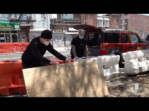 JENK TV - Building a Box from NYC Street Trash