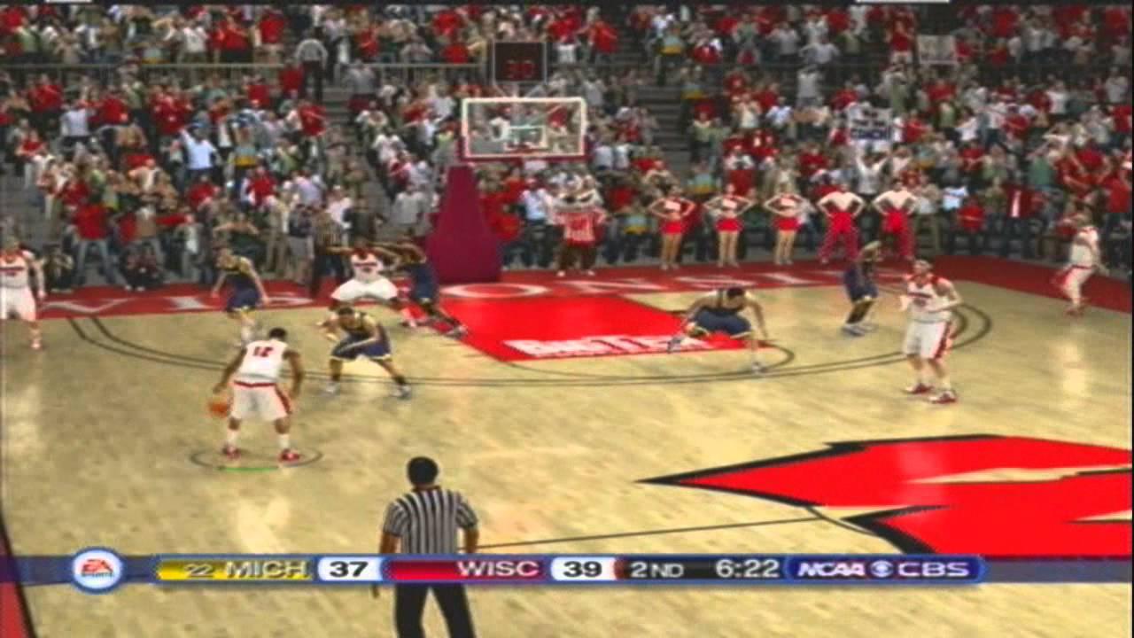 Clemson Vs Wisconsin >> NCAA Basketball 10 Updated for 2014 Michigan vs Wisconsin - YouTube