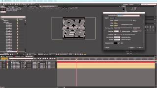 After Effects Tutorial: Change The Logo Composition Size In After Effects Templates