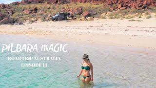 CRAZY BEACH CAMP IN THE PILBARA & STAIRCASE TO THE MOON | ROADTRIP AUSTRALIA EP.13