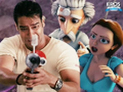 Toonpur Ka Superrhero -  Ajay Devgn | Kajol