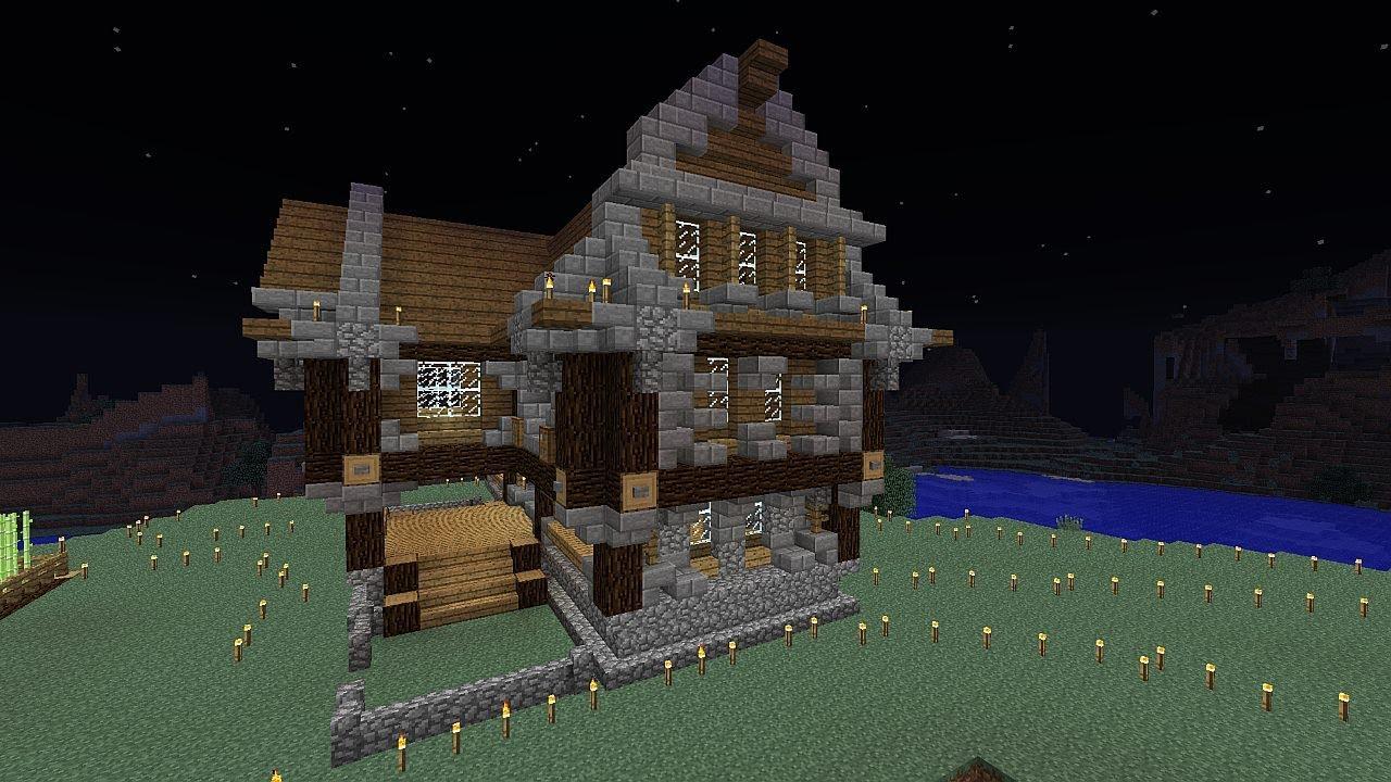 minecraft survie et construction pisode 4 une maison