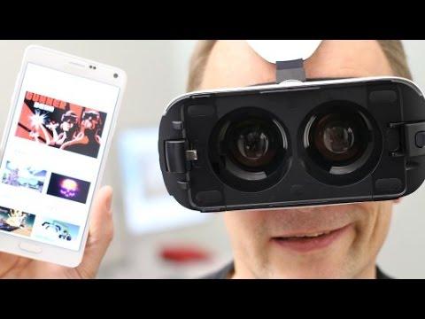 Samsung Gear VR im Test: Ausflug in die virtuelle Welt