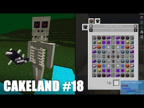 CakeLand #18: Тёмное измерение! Путь к Креативному танку!